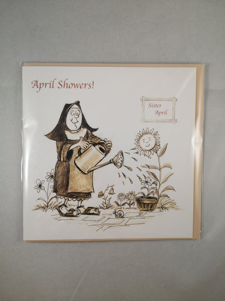 Holy Orders Card – April Showers