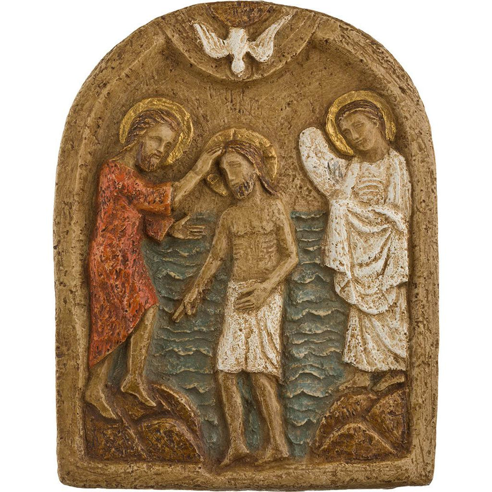 Baptism Of Christ | Atelier d'art de Bethléem | The Shrine Shop