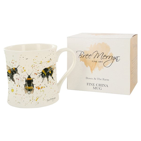 Bree Merryn Mug – Bee Happy | Gifts | The Shrine Shop