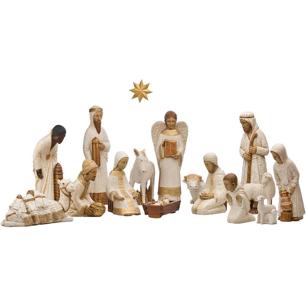 Grand Creche Nativity Set | Crib Sets | The Shrine Shop