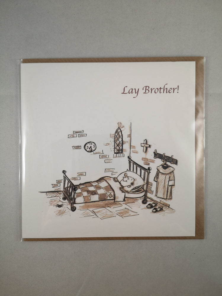 Holy Orders Card – Lay Brother | Greetings Cards & Stationery | The Shrine Shop