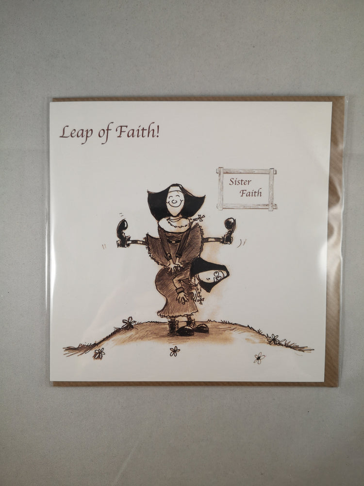 Holy Orders Card – Leap of Faith