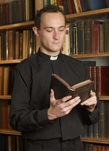Long Sleeve Slip-in Collar | Clergy & Church Supplies | The Shrine Shop