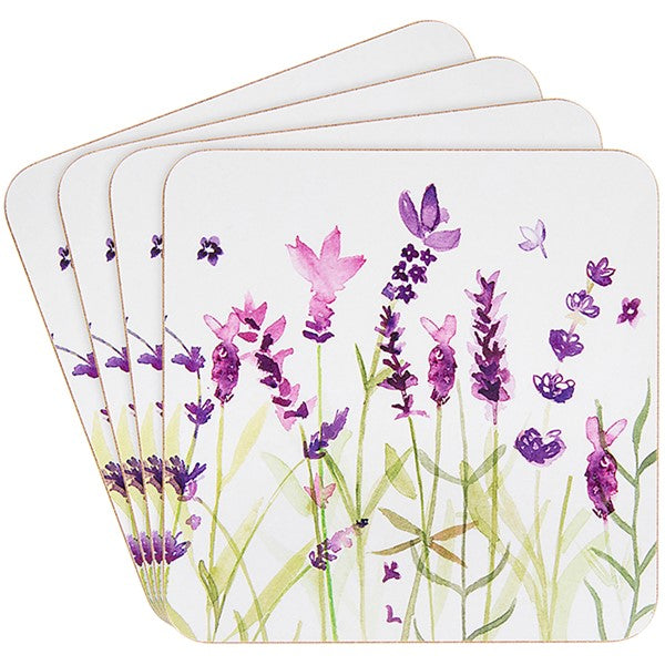 Lavender Coasters – 4 Pack | Gifts | The Shrine Shop