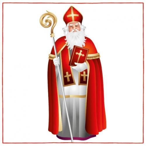 Napkin – St Nicholas | Seasonal | The Shrine Shop