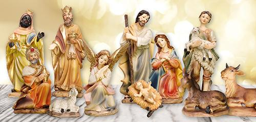 Nativity Set 11 Figures 3.5 inch