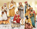 Nativity Set 8 Figures 6 Inch