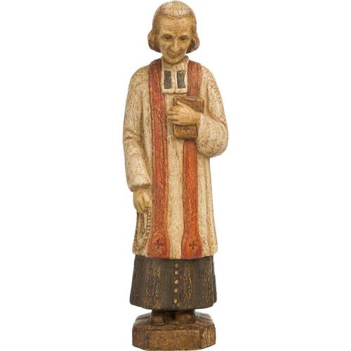 Statue Cure d'ars 18cm | Atelier d'art de Bethléem | The Shrine Shop