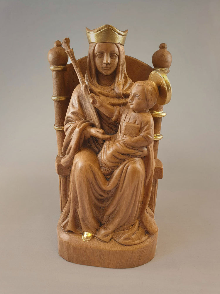 Resin and Gold Statue of Our Lady of Walsingham