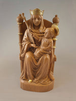 Our Lady of Walsingham Resin (Wood & Gold)