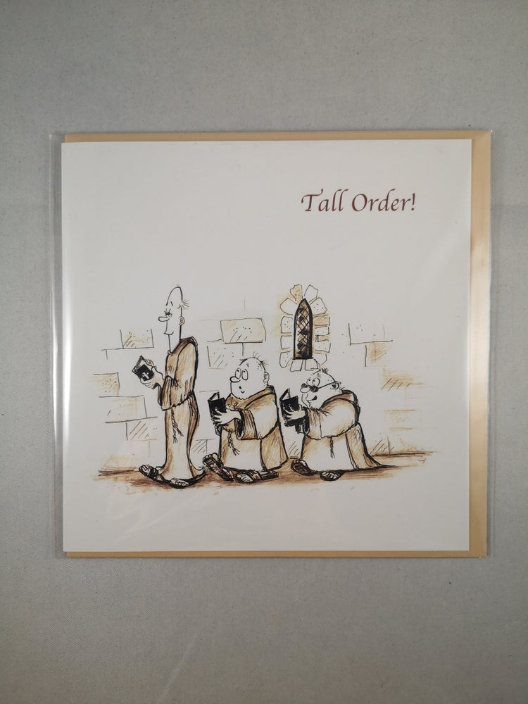 Holy Orders Card – Tall Order