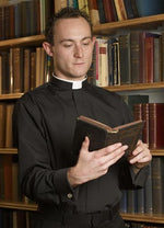 Long Sleeve Tonsure Collar | Clergy & Church Supplies | The Shrine Shop