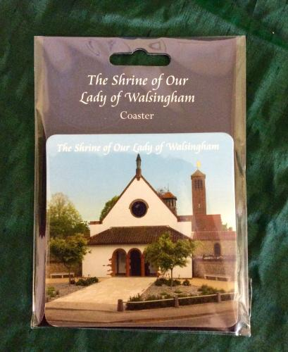 Walsingham Coaster | Our Lady of Walsingham | The Shrine Shop