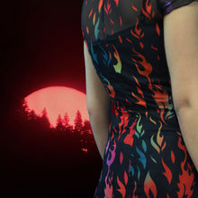 Load image into Gallery viewer, ECSTASY MESH DRESS