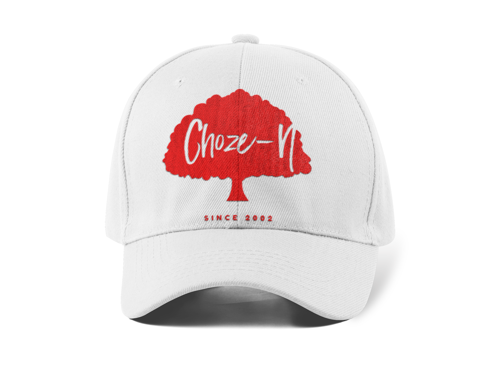 Choze-N Red Tree White Hat