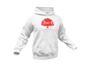 Choze-N Red Tree White Hoodie