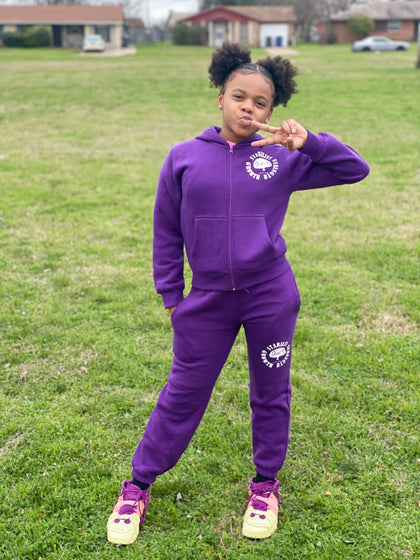 Choze-N Angels Purple SSG sweatsuit