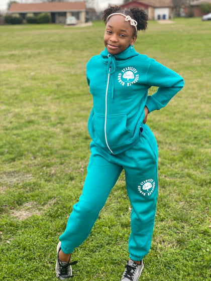 Choze-N Angels Turquoise SSG sweatsuit