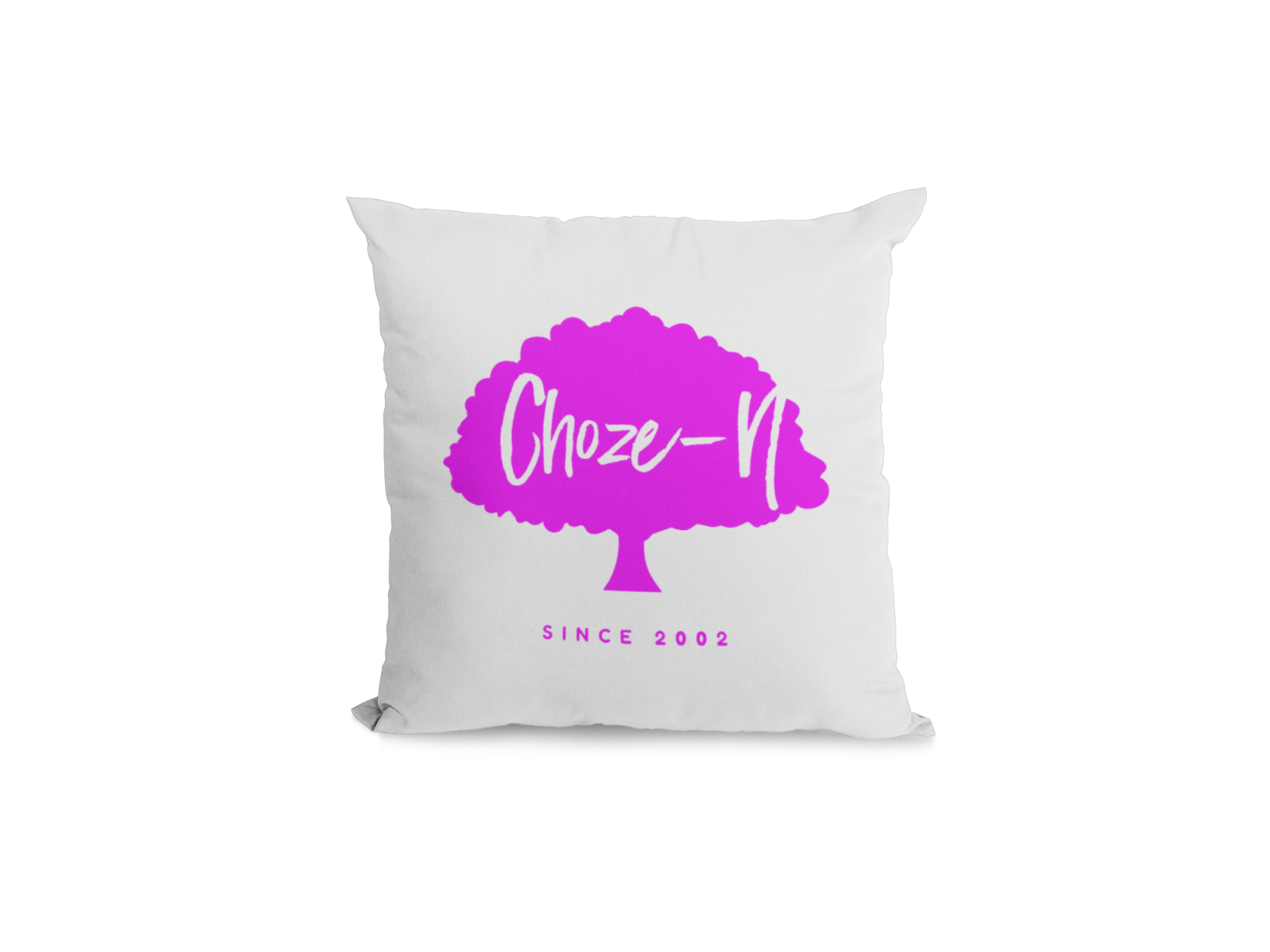 Choze-N Pillow Red Tree•