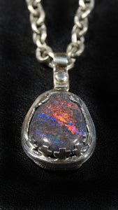 Master Of Puppets Opal Pendant
