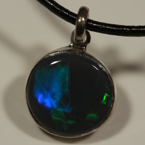 Custom Blue Green Opal necklace (Must See Video)
