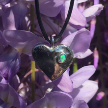 Spring time Heart Pendant