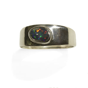 Opal Pinfire Ring