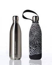 Load image into Gallery viewer, Stainless Steel Insulated Bottle + Carry Cover 1000ml - Bubble Print