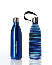 Load image into Gallery viewer, Stainless Steel Insulated Bottle + Carry Cover 1000ml - Electric Print