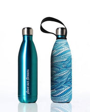 Load image into Gallery viewer, Stainless Steel Insulated Bottle + Carry Cover 750ml - Sealeaf Print