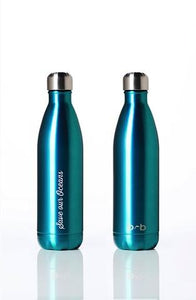 Stainless Steel Insulated Bottle + Carry Cover 750ml - Sealeaf Print
