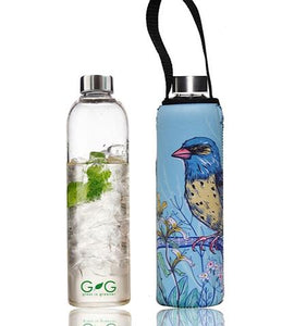 "Glass is Greener 750 ML Bottle + Carry Cover ""KOOK"""