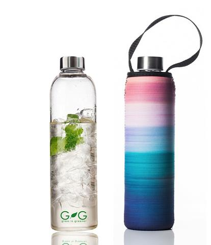 Glass is Greener 750 ML Bottle + Carry Cover