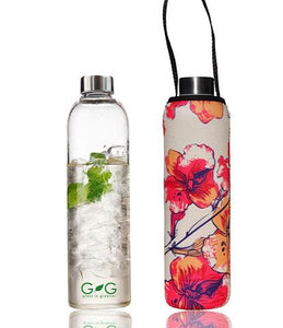 GLASS IS GREENER + CARRY COVER - 750 ML - Stem Print