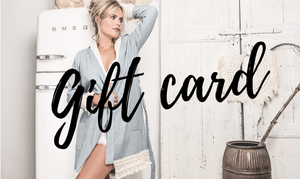 Gift Card Women Bathrobes Hygge Robe