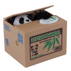 Coin Stealing Panda Piggy Bank-Shop The Best Online Deals