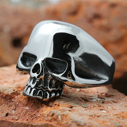 Men's Silver Skull Ring-Shop The Best Online Deals