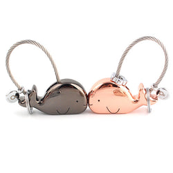 Whale Key Ring For Lovers-Shop The Best Online Deals