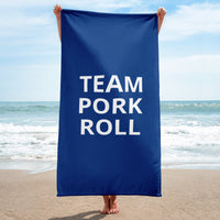 Team Pork Roll Beach Towel