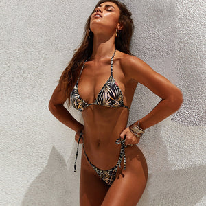 HOT TROPIC BIKINI - BLACK