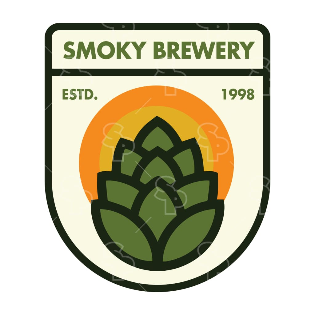 1372 - Beer Clean Hops Badge