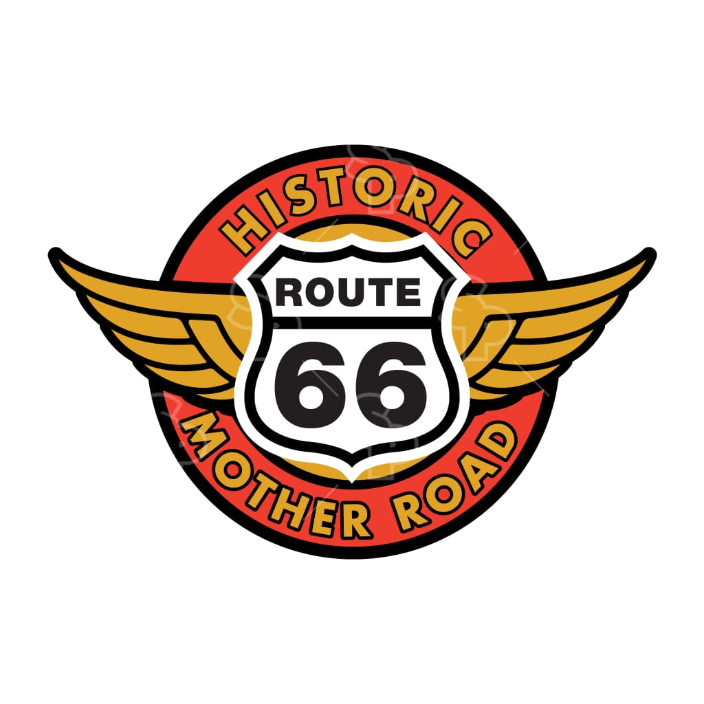 1436 - Route 66 Circle Wings