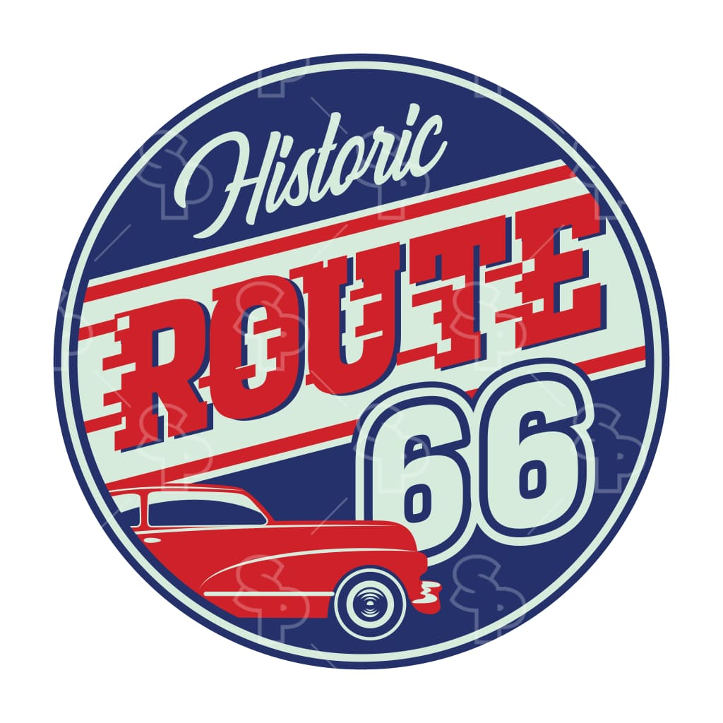 1440 - Route 66 Classsic Blue