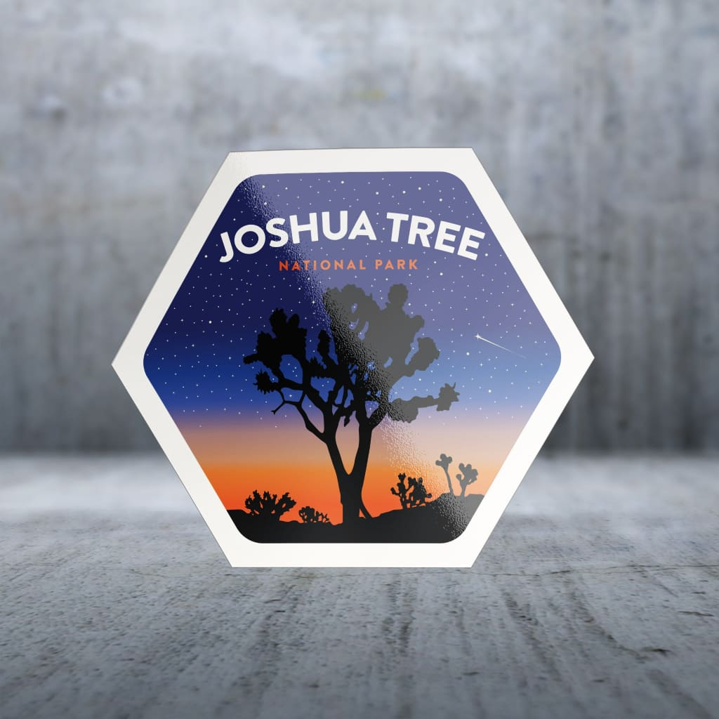 1475 - Clean Np Badge Joshua Tree