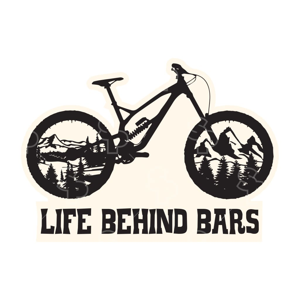 1590 - Mountain Bike Life Behind Bars