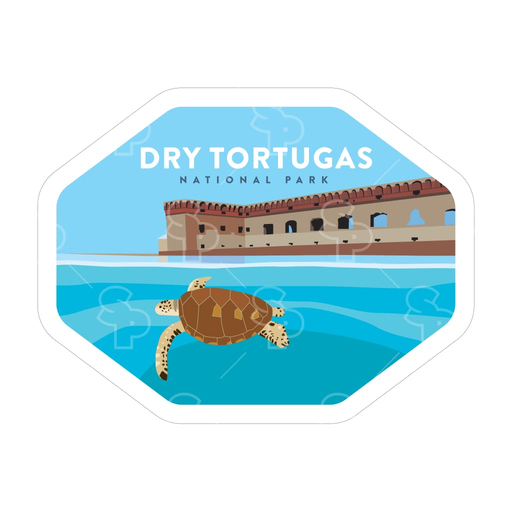1662 - Clean Np Badge Dry Tortugas