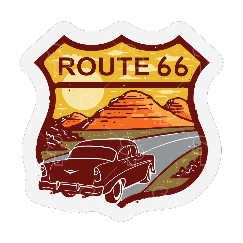 1896 - Route 66 Sunset Cadillac