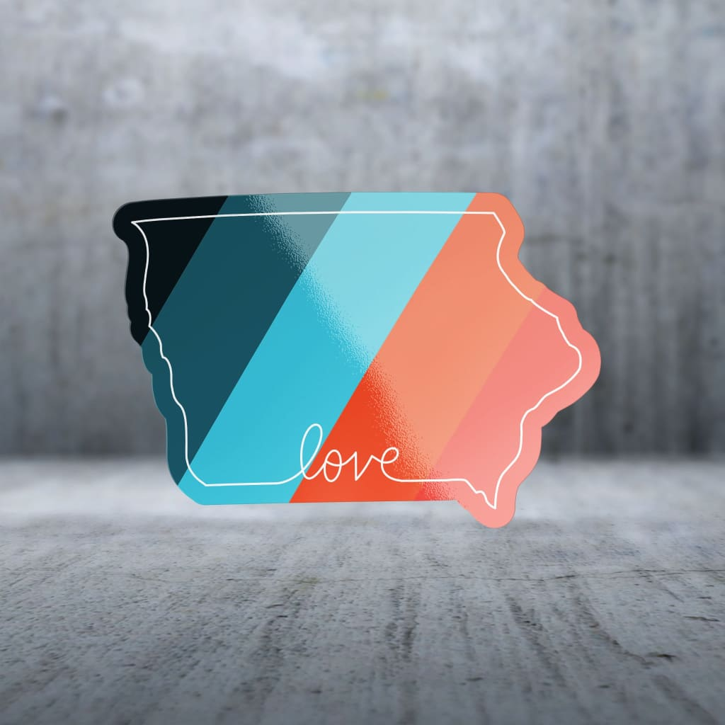 2426 - State Love Colors Iowa