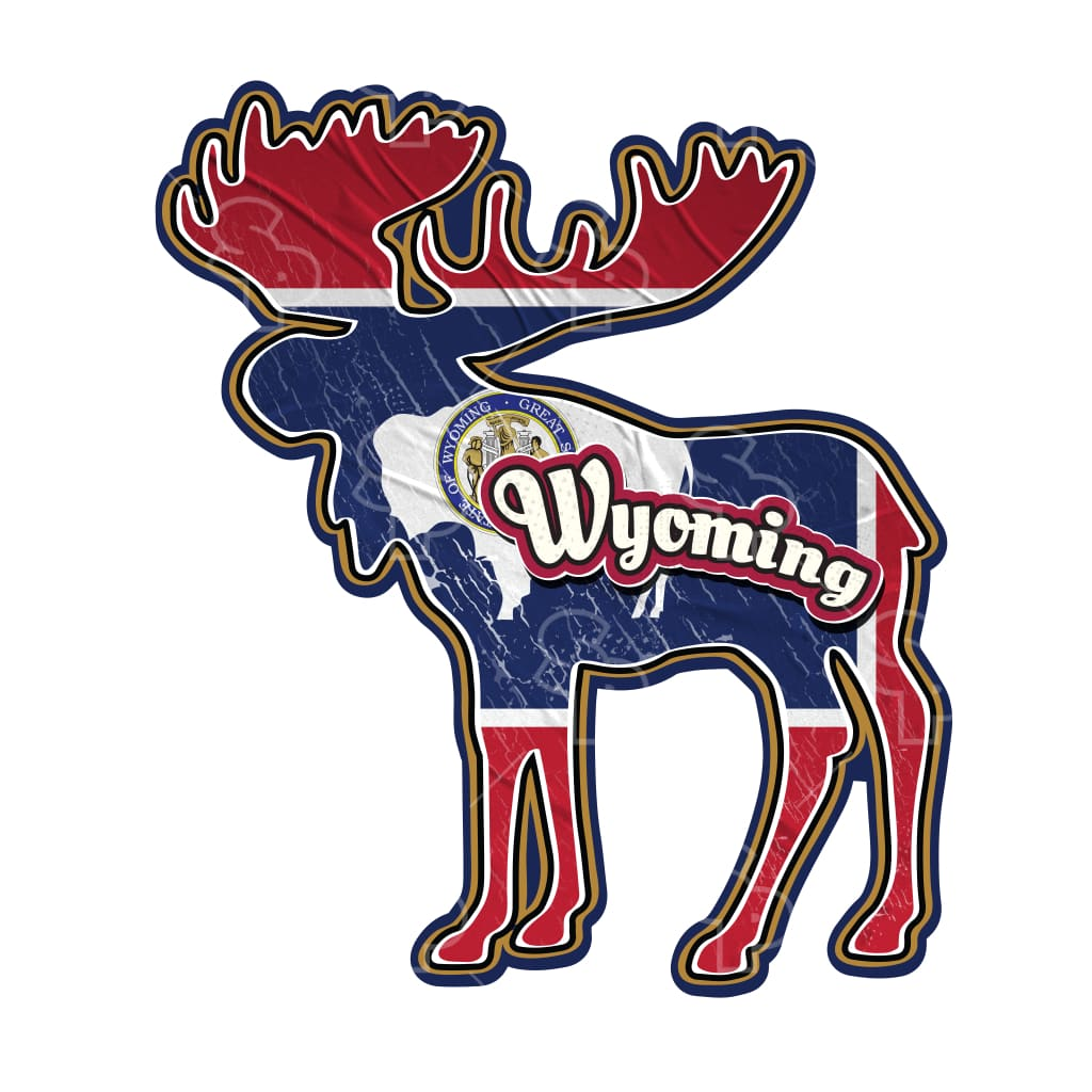 2754 - State Moose Wyoming