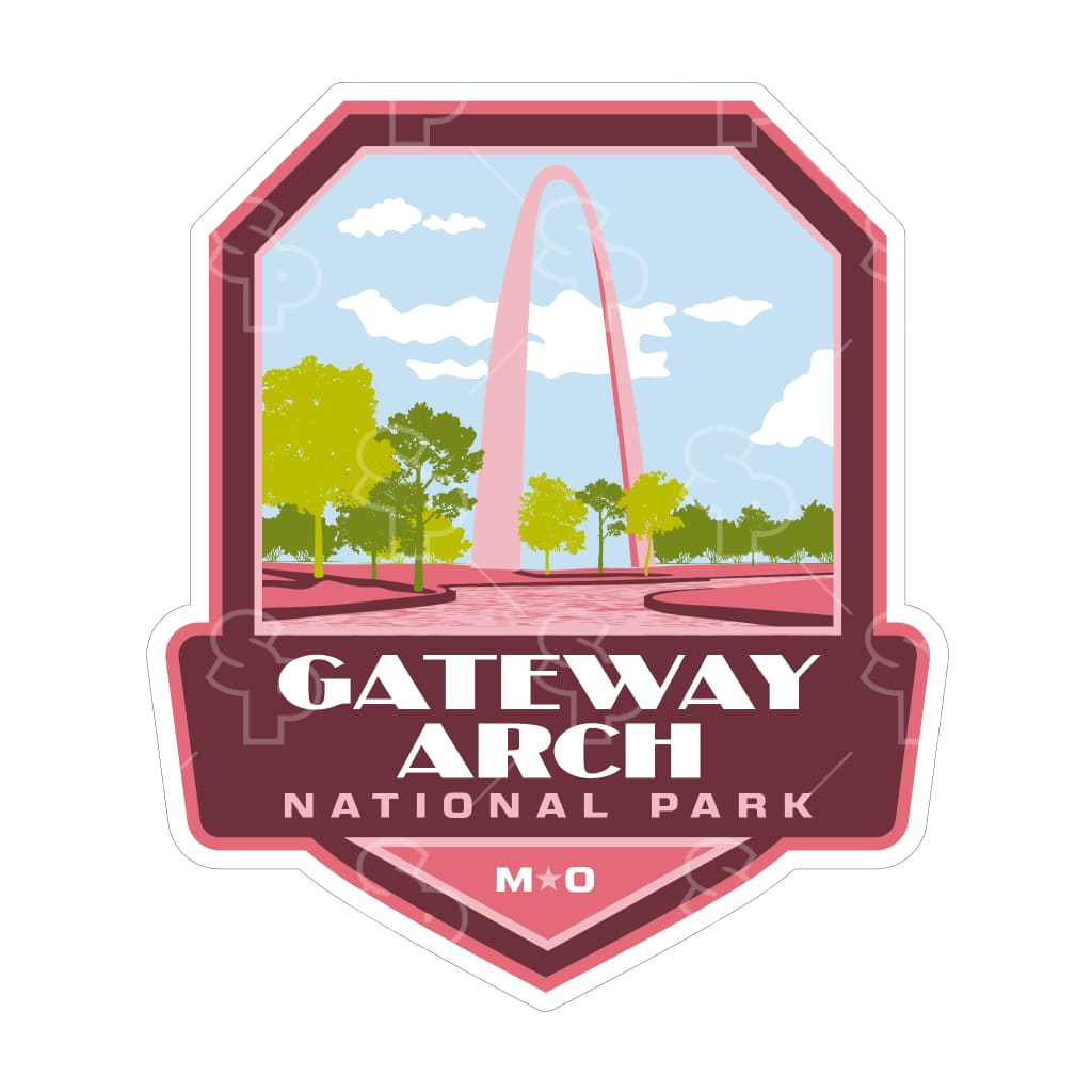 5205 - Np Power Badge Gateway Arch